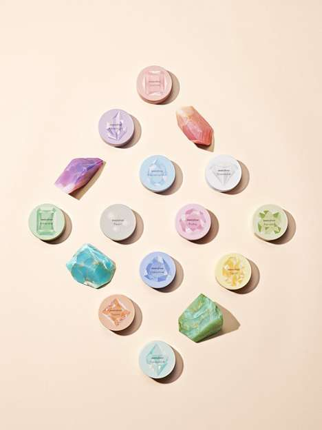 Birthstone-Inspired Mineral Powders - Birthstone Matte Mineral Products are a Fan-Favorite