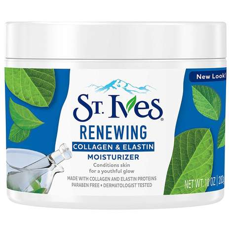 Updated $5 Face Moisturizers - This St. Ives Facial Moisturizer is Packed with Collagen and Proteins