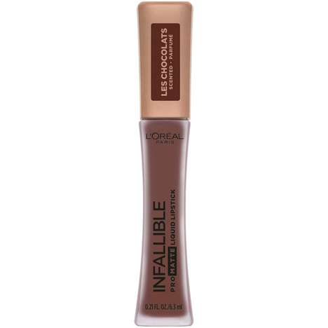Matte Chocolate-Scented Lipsticks - These L'Oréal Paris Infallible Liquid Lipsticks Boast Nude Hues