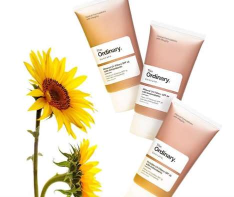 Affordable Mineral Sunscreens - The Ordinary SPFs Provide Protection Without Irritation