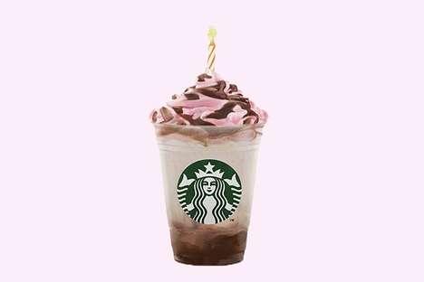 Birthday Cake-Themed Beverages