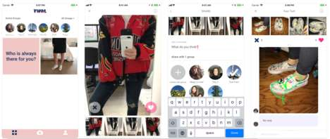 Outfit-Testing Apps - TWRL Gives Friends Instant Outfit Feedback