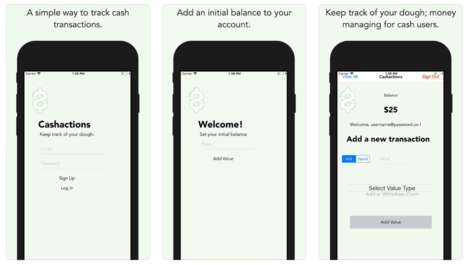 Cash-Tracking Apps