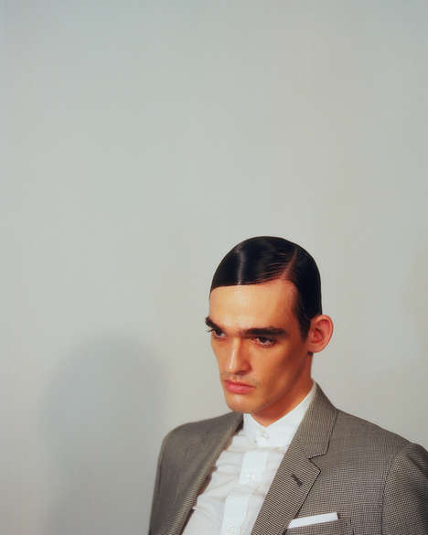 Androgynous Business Apparel Shoots - Céline Bischoff Shot Fucking Young!'s 'Men at Work' Editorial