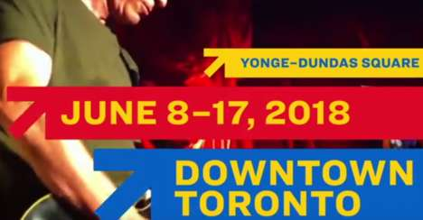 Accountable Festival Ads - The NXNE 2018 Campaign Takes Ownership of Its Past Downfalls