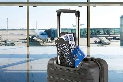 Document-Organizing Suitcases