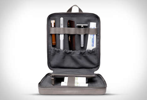 Stylized Grooming Kit Cases - The This is Ground Ritual Wash Kit Keeps Cosmetic Essentials Organized