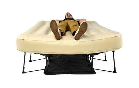 Self-Inflating Air Beds