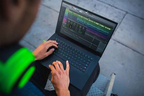 Commuter-Friendly Gaming Laptops - The New Razer Blade Laptop is Just 0.66 Inches Thick