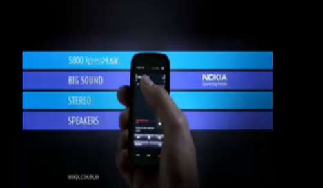 The Nokia 5800 Commercial Pumps Up The Volume