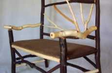 Twig Furniture - Jerry Tomasek's Unique Designs Using Sticks Found in the Woods