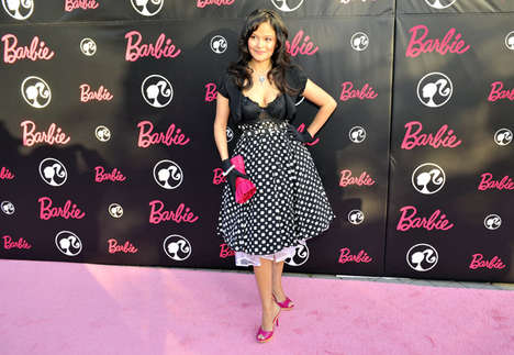 Barbie Birthday Parties - Celebs Flock to Malibu to Honor Barbie's 50th