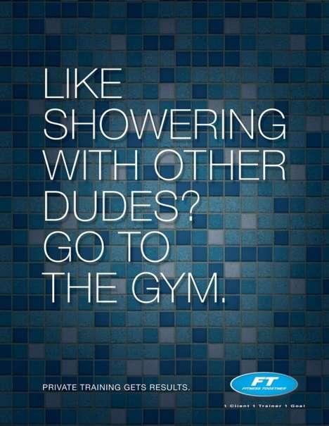 Cheeky Gym Ads