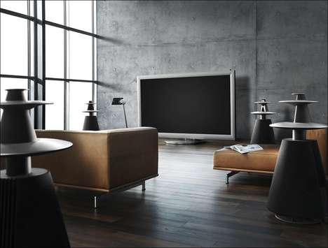 "$136,000 Plasma TVs - Bang and Olufsen Show Off the Sweet 103"" BeoVision 4-103"