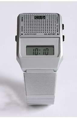 Metallic Talking Timepieces