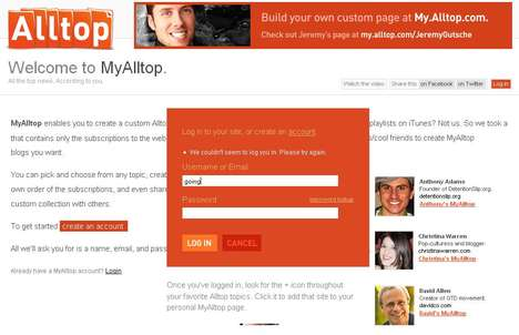 Personalized Feed Collections - Guy Kawasaki's AllTop Just Got More Personal with My AllTop