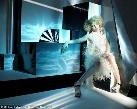 Futuristic Diva Shoots