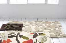 Nature-Inspired Rugs - FIQ Accent Mats Give Any Room a New Look
