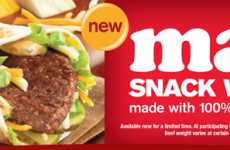 Fast Food Fusion - McDonald's Replaces Buns With Tortillas for the Mac Snack Wrap