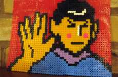 Geeky Star Trek Crafts - Knit Me Up, Scotty, With These Awesome Pieces of Art For Trekkies