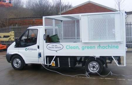 Garbage Powered Trucks - World's First Garbage Truck Fueled by Its Own Trash