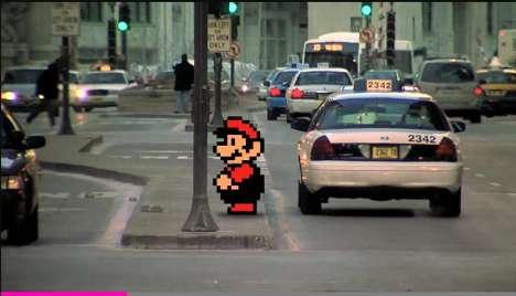 Real-Life Video Game Mashups