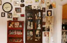 Eccentric Condo Exhibits - New Yorker Creates Museum Of Oddities In His Own Apartment