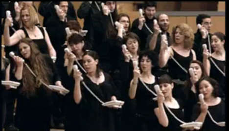 Telecommunication Choirs - Cosmote Telecom Uses Opera To Deliver Message