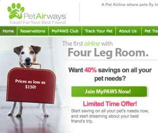 Airlines for Animals