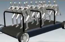 Crowdpowered Transit - Alex Astilean's Speedfit Treadmobile is an Exercise in Innovation