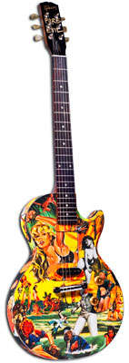 Custom Charity Guitars