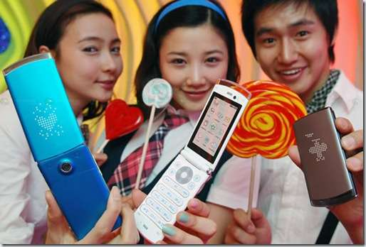 Teen Targeted Tech: The Colorful LG Lollipop Phones Display