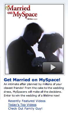 Social Reality Weddings - From Online Dating to the 'Married on MySpace' Show