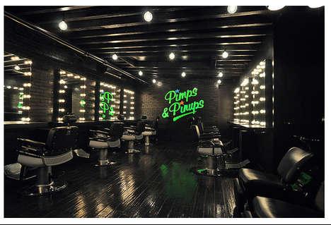 Retro Hollywood Salons