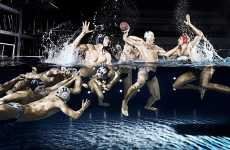 Playful Underwater Photography - German Water Polo Team by Rasmus Kaessmann