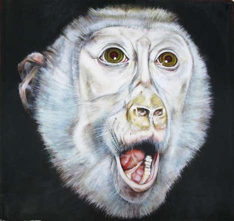 Anatomical Monkey Art