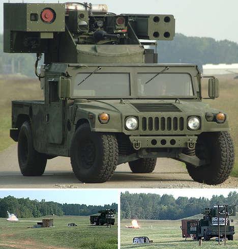 Long-Range Military Lasers