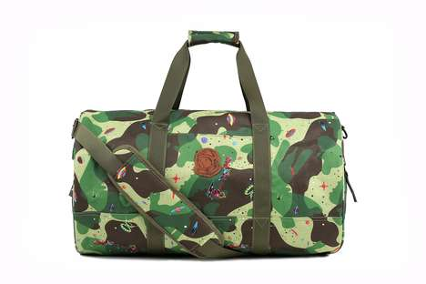 Camo-Print Luggage Collections