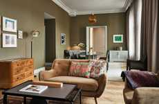 Contemporary Boutique Hotels - The Hotel St George Was Built in a Historic Building from the 1840s