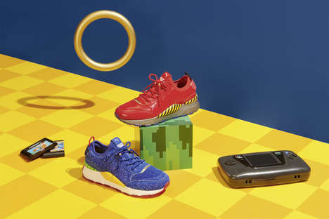 Video Game-Inspired Sneakers - SEGA and PUMA Rework the RS-0 Sneaker with Sonic and Dr. Eggman