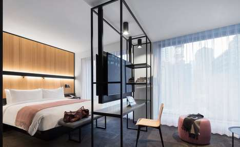 Tech-Savvy Hotel Designs