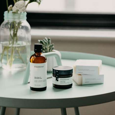 Minimalist Family Skincare - énamour Creates Simple, All-Natural and Plant-Based Care Products