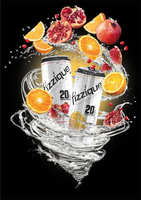 Protein-Rich Sparkling Water