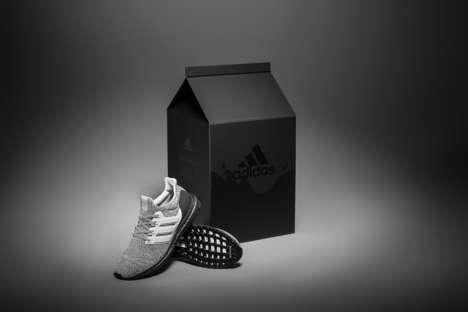 Carton-Style Sneaker Packaging - adidas' Limited-Edition Box Riffs Off of a Fan-Created Nickname