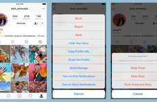 Social Media Muting Options - The New Instagram Mute Option Helps Users Better Tailor Their Feeds
