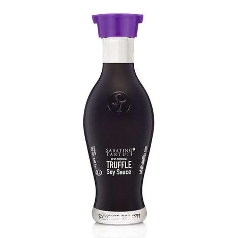 Truffle-Infused Soy Sauces - Sabatino Tartufi's 'Truffle Soy Sauce' Adds an Upscale Twist to Dishes