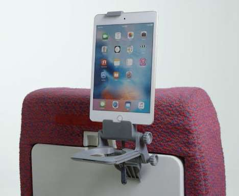 Mobile Travel Stands - The Airhook 2.0 Makes It Easier to Use Devices While in Transit