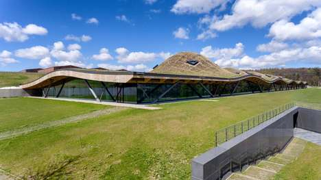 Wildflower Whiskey Roofs - The Macallan Distillery is Covered with Scottish Flora