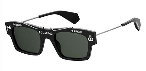 Cult Camera Brand Eyewear - The Polaroid Eyewear Heritage Collection Revisits Archival Models