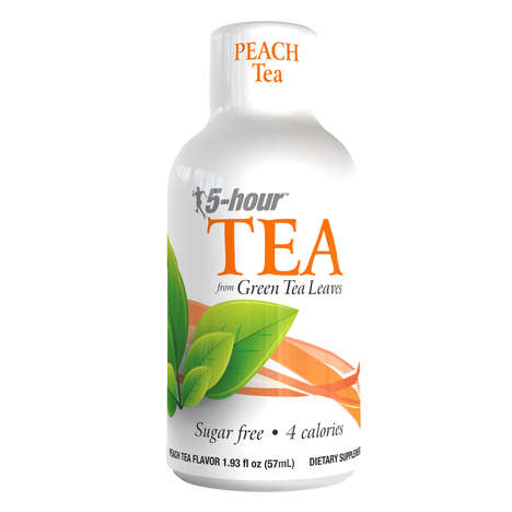 Tea-Based Energy Shots - The 5-hour TEA Shots Energize with Caffeine from Green Tea